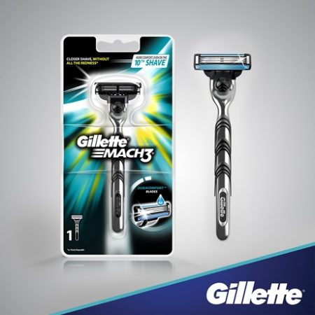 Gillette Mach 3 Razor for men