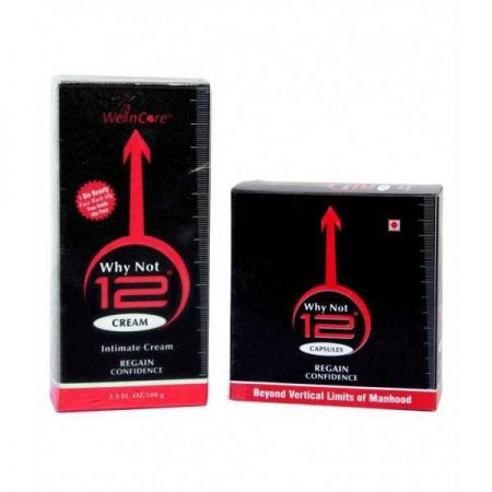 Why Not 12 Cream & Capsules-60gm & 30no