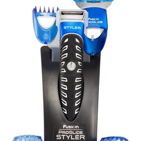 Gillette Fusion Proglide 3-in-1 Styler Runtime: 30 min Trimmer for Men  (Black, Blue)