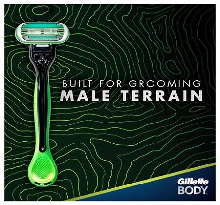 Gillette Body Razor For Men & Women