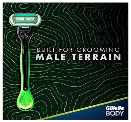 Gillette Body Disposable Razor 2 Count for Men &am...