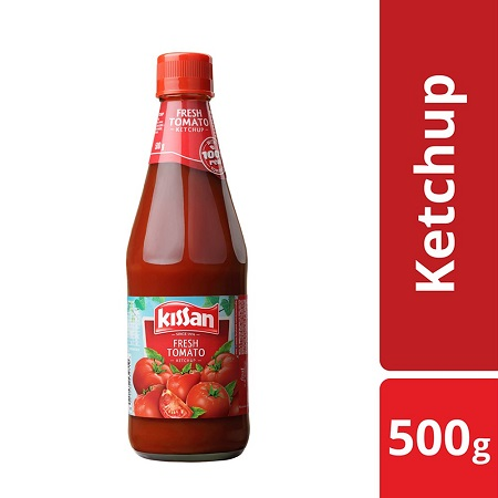 Kissan Fresh Tomato Ketchup 500ml.