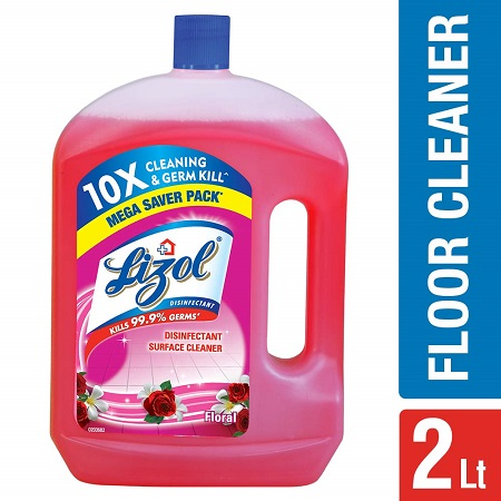Lizol Floral 3 In 1 Surface Cleaner 2 Ltr