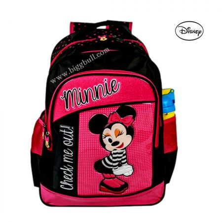 Disney Kids Bag Waterproof Backpack(Pink, 3 L)