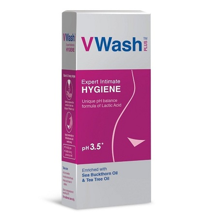 VWash Plus Intimate Hygiene Wash – 200 ml