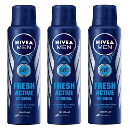 Nivea Men Fresh Active Orignal Deodorant...