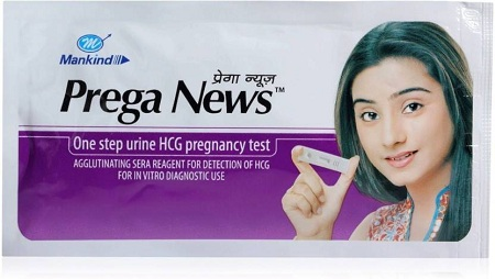 Mankind Prega News Pregnancy Test Kit  (2 Tests)