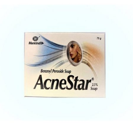 Mankind Acnestar Soap pack of 4  (75 g, Pack of 4)