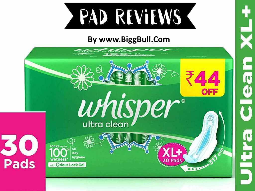 Whisper Ultra Clean Review + Discount Coupon