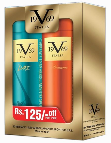 ITALIA VERSACE Italia V 19.69 Versace Dare, Romance SRL All over Body Spray 1+1 Body Spray