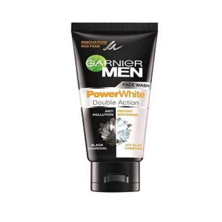 Garnier for Men Power White Face Wash, 50gm