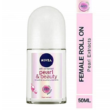 Nivea Pearl And Beauty Deodorant Roll On, 50ml
