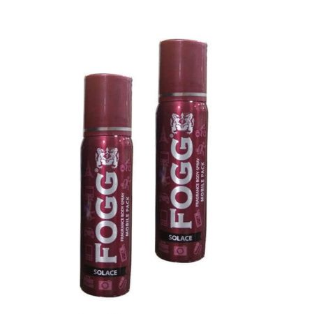 Fogg Solace Mobile Pack Deo 25ml Each (Pack of 2)