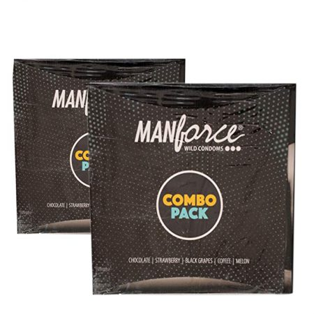 Manforce Condoms Combo Pack – 20 Pieces (Pack of 2)