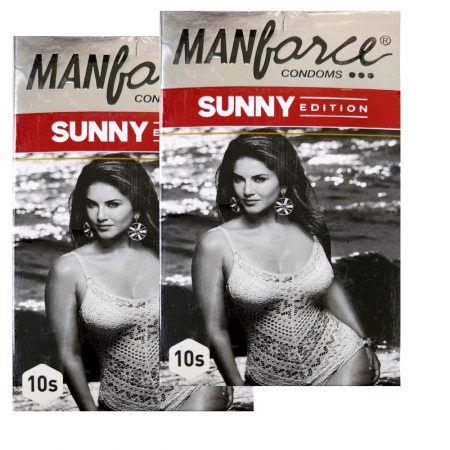Buy – Manforce Sunny 3 In 1 Condoms – 10 Pieces (Pack of 2)