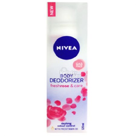 Nivea  Body Deodorizer freshrose & Care daylong odour control, 120ml