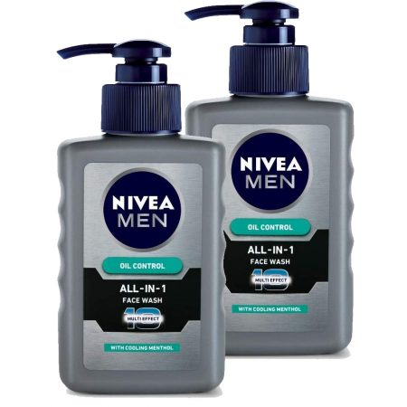 Nivea Men All-In-1 Face Wash, 65g (Pack of 2)