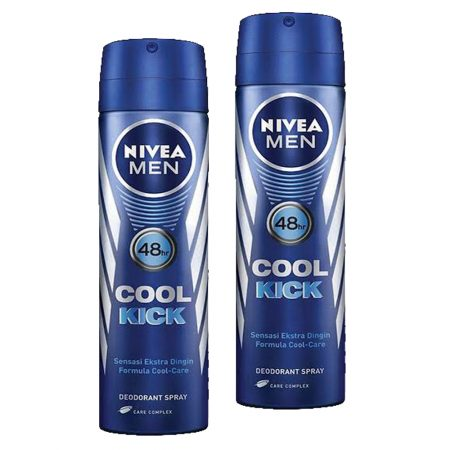 Nivea Men Cool Kick of Freshness Cool-Care 150ml (Pack of 2)