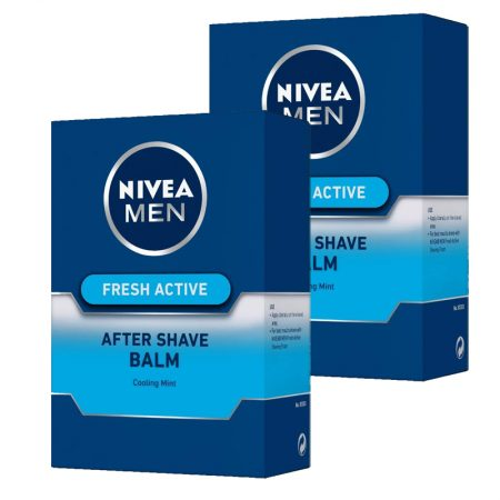 Nivea Men Fresh Active After Shave Blam – 100 ml (Pack of 2)