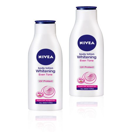 Nivea Whitening Even Tone UV Protect Lotion, 200ml (Pack of 2)