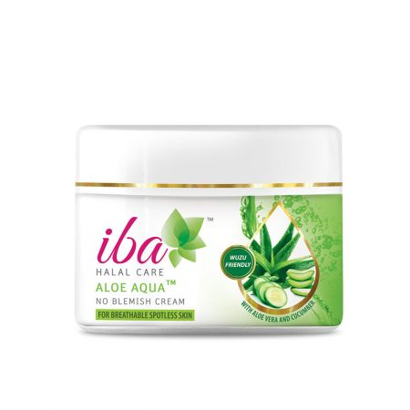 iba HALAL CARE Aloe Aqua No Blemish Cream, 50g