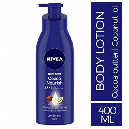Nivea Cocoa Nourish Body Lotion, 400ml
