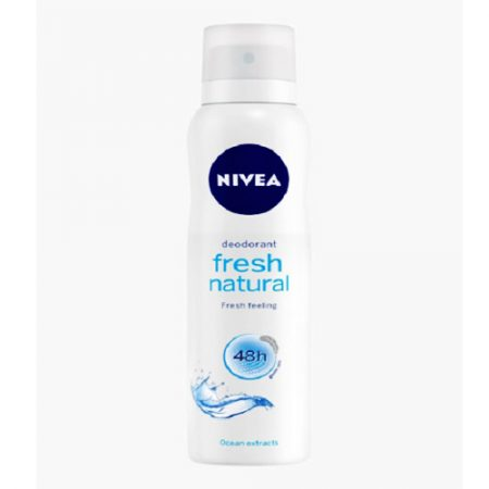 Nivea Fresh Natural Clean Scent Deodorant Spray – For Women  (150 ml)