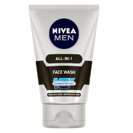 Nivea Men All-In-1 Face Wash, 100g