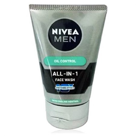 Nivea Men All-in-1 Oil Control Whitening Effect Face Wash 50g