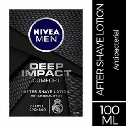 Nivea Men Deep Impact Comfort After Shave Lotion, 100ml