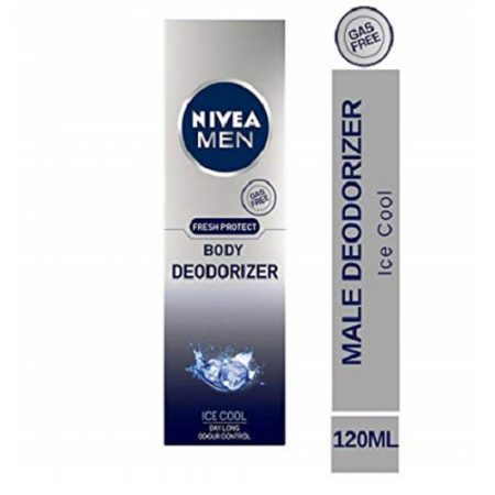 Nivea Men Fresh Protect Body Deodorizer Ice Cool , 120ml