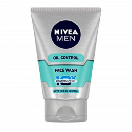 Nivea Men Oil Control Face Wash (10X whitening), 50g