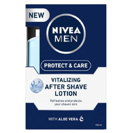 Nivea Men Protect and Care Vitalizing After Shave Lotion with Aloe Vera – 100 ml
