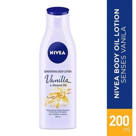 Nivea Vanilla and Almond Oil, 200ml
