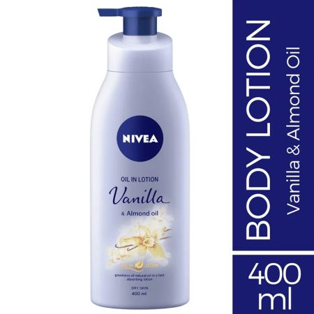 Nivea Vanilla and Almond Oil, 400ml