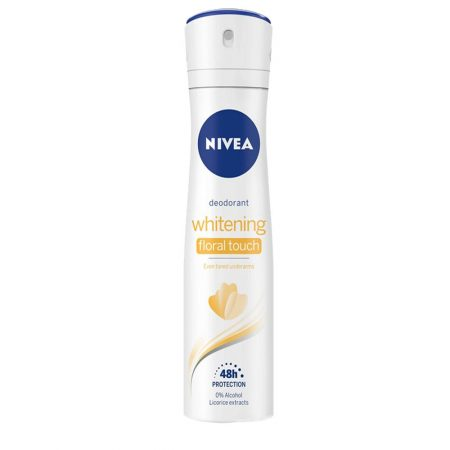 Nivea Whitening Even toned underarms Clean Scent Deodorant Spray – For Women  (150 ml)