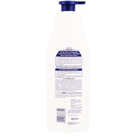 Nivea Whitening Even Tone UV Protect Lotion, 400ml