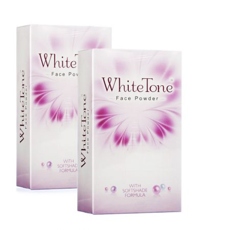 White Tone Face Powder With Softshade Formula 70gm (pack of 2)