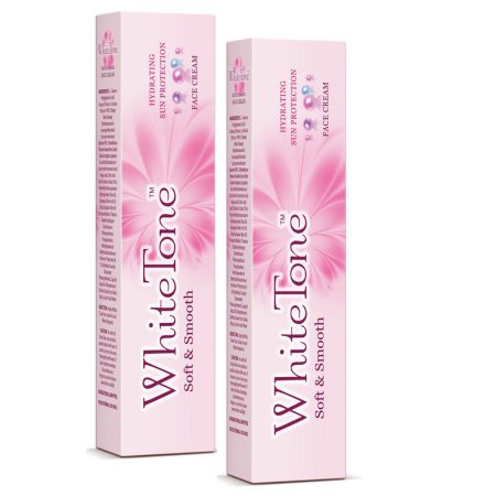 White Tone Soft & Smooth Face Cream 15gm (Pack of 2)