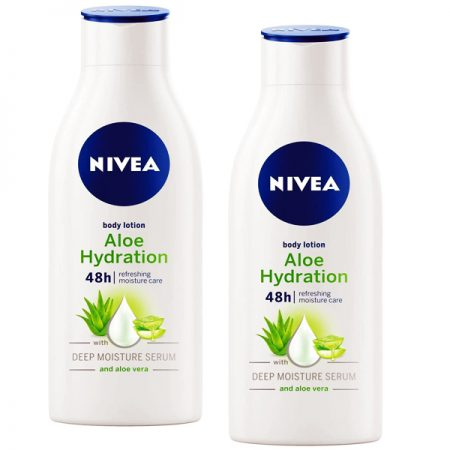 Nivea Aloe Hydration Body Lotion  200ml (Pack of 2)