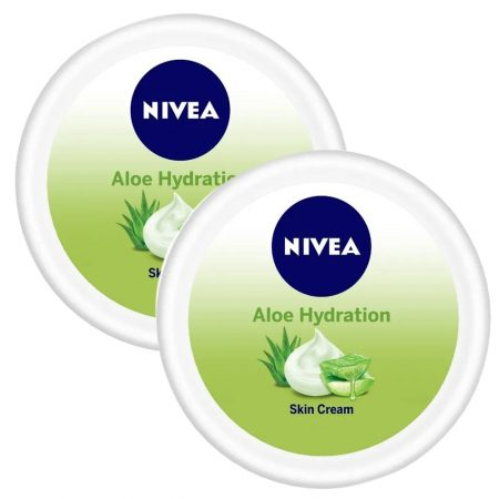 Nivea Aloe Moisturizing Crème, 100ml (Pack of 2)