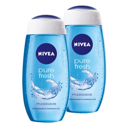 Nivea Care Fresh Pure Shower Gel – 250 ml (Pack of 2)