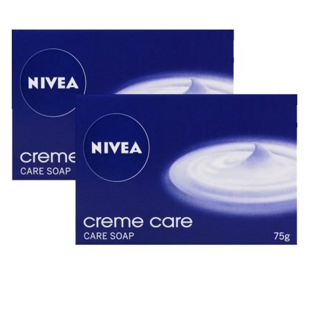 Nivea Crème Care Soap, 75g (Pack of 2)