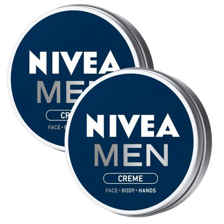 Nivea Men Face Body Hands Cream, 30ml (Pack of 2)
