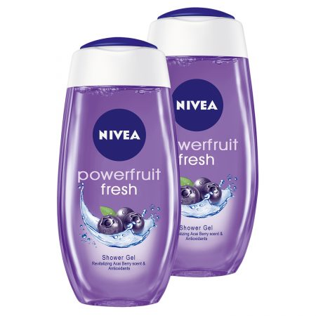 Nivea Powerfruit Fresh Shower Gel  (250 ml) (Pack of 2)