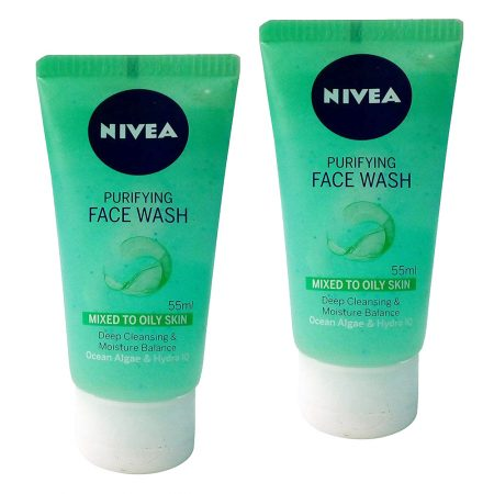 Nivea Purifying Facewash, 55ml (pack of 2)