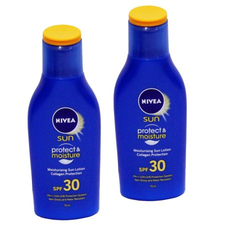 Nivea Sun Moisturising Lotion – SPF 30 PA++ 125 ml (Pack of 2)