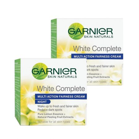 Garnier white complete multi action fairness cream 18g (Pack of 2)