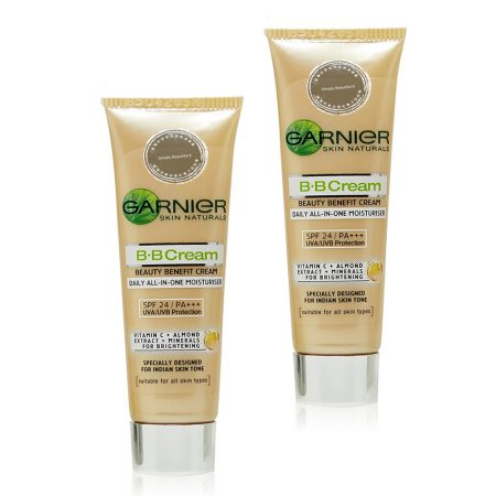 Garnier SKIN NATURALS B.B Cream Daily All-In-One Moisturiser  9gm (Pack of 2)