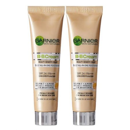 Garnier SKIN NATURALS B.B Cream Daily All-In-One Moisturiser 18g (Pack of 2)